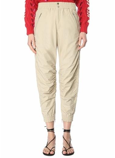 Etoile Isabel Marant Etoile Isabel Marant Slim Fit  Büzgülü Pantolon 101601865 Bej
